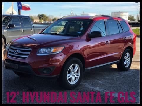 2012 Hyundai Santa Fe for sale at ASTRO MOTORS in Houston TX