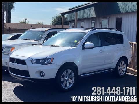 2010 Mitsubishi Outlander for sale in Houston, TX