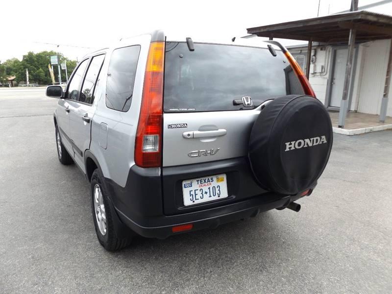 2004 Honda CR-V for sale at Americar Auto Sales in New Braunfels TX