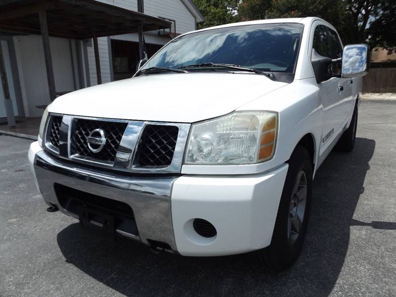 2005 Nissan Titan for sale at Americar Auto Sales in New Braunfels TX