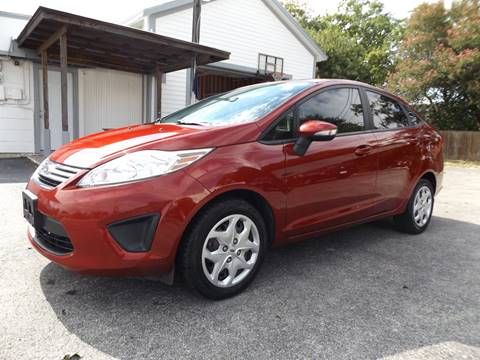 2013 Ford Fiesta for sale at Americar Auto Sales in New Braunfels TX