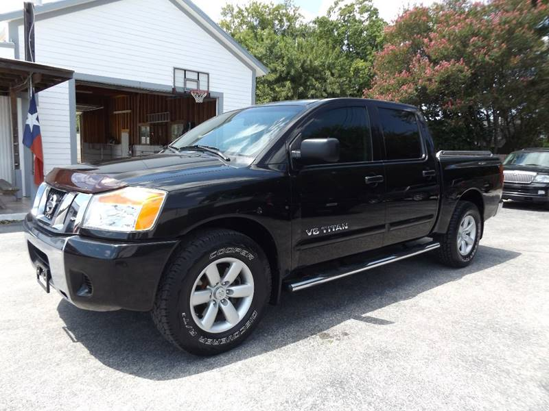 2008 Nissan Titan for sale at Americar Auto Sales in New Braunfels TX