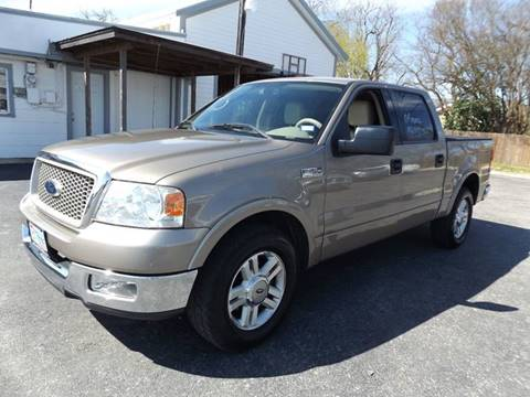 2004 Ford F-150 for sale at Americar Auto Sales in New Braunfels TX