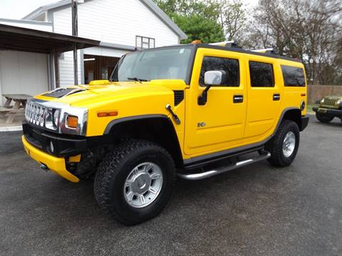 2005 HUMMER H2 for sale at Americar Auto Sales in New Braunfels TX