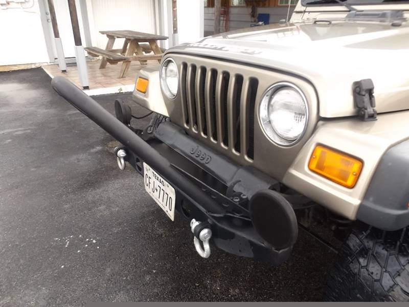 2003 Jeep Wrangler for sale at Americar Auto Sales in New Braunfels TX