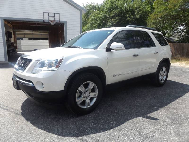 2008 GMC Acadia for sale at Americar Auto Sales in New Braunfels TX