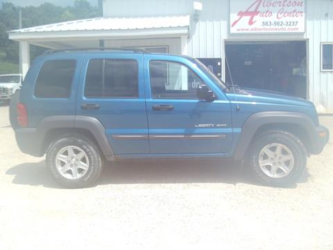 2003 Jeep Liberty for sale in Spillville, IA