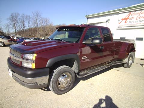 2003 Chevrolet Silverado 3500 for sale in Spillville, IA