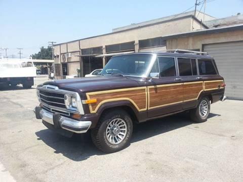1990 Jeep Grand Wagoneer for sale in Rosemead, CA