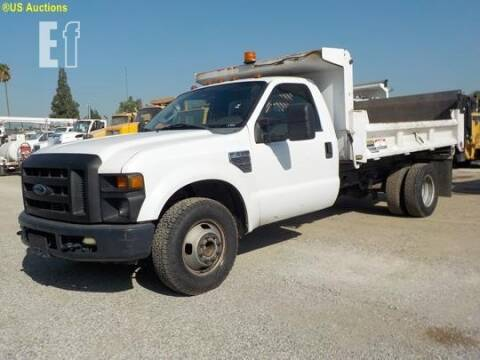 2008 Ford F-350 lift gate, dump for sale at Vehicle Center in Rosemead CA