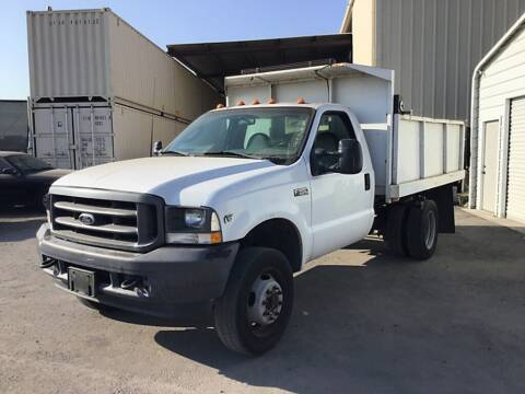 2003 Ford F-550 Super Duty for sale at Vehicle Center in Rosemead CA