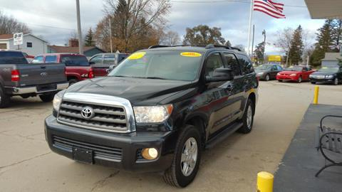 2012 Toyota Sequoia for sale in Clare, MI