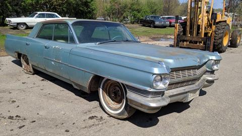 1964 Cadillac Series 62 for sale at UNIQUE SPECIALTY & CLASSICS in Mankato MN