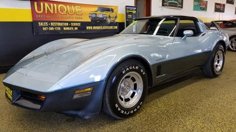 1982 Chevrolet Corvette for sale in Mankato, MN