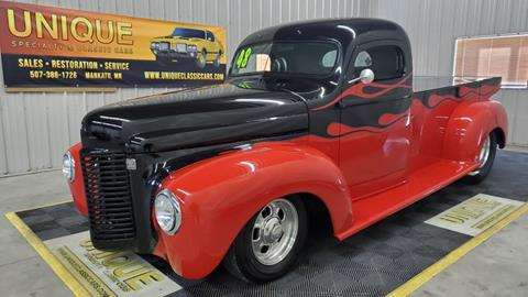 1948 International PICKUP STREET ROD for sale at UNIQUE SPECIALTY & CLASSICS in Mankato MN