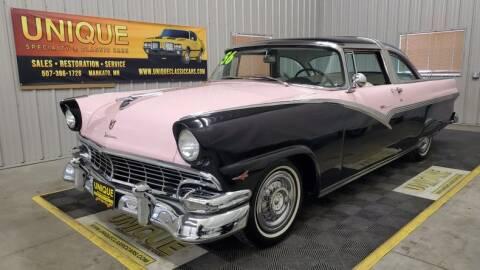 1956 Ford Crown Victoria for sale at UNIQUE SPECIALTY & CLASSICS in Mankato MN