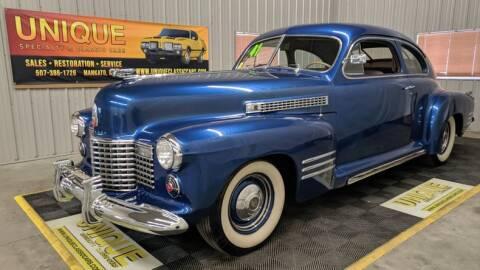 1941 Cadillac Series 61 for sale at UNIQUE SPECIALTY & CLASSICS in Mankato MN