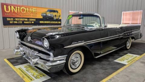 1957 Pontiac Star Chief for sale at UNIQUE SPECIALTY & CLASSICS in Mankato MN