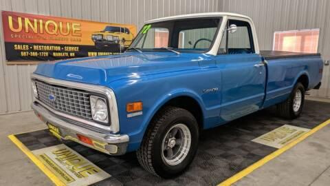 1972 Chevrolet C/K 10 Series for sale at UNIQUE SPECIALTY & CLASSICS in Mankato MN