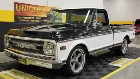 1970 Chevrolet C/K 10 Series for sale at UNIQUE SPECIALTY & CLASSICS in Mankato MN