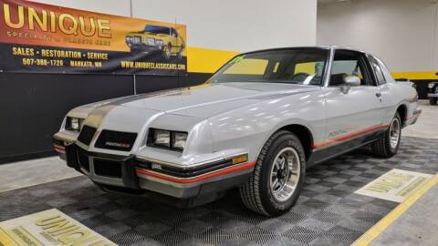 1986 Pontiac Grand Prix for sale at UNIQUE SPECIALTY & CLASSICS in Mankato MN