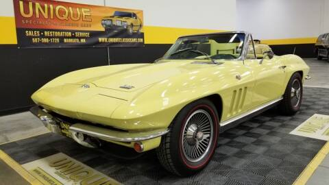 1966 Chevrolet Corvette for sale at UNIQUE SPECIALTY & CLASSICS in Mankato MN
