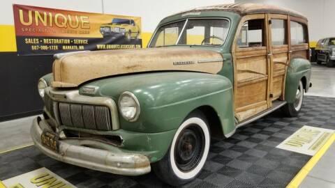 1947 Mercury Eight for sale at UNIQUE SPECIALTY & CLASSICS in Mankato MN