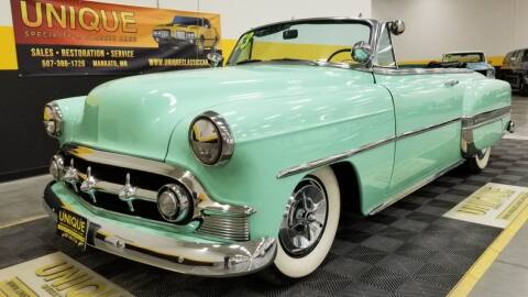 1953 Chevrolet Bel Air for sale at UNIQUE SPECIALTY & CLASSICS in Mankato MN