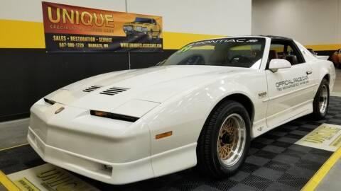 1989 Pontiac Firebird for sale at UNIQUE SPECIALTY & CLASSICS in Mankato MN