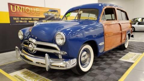 1949 Ford 2 Door Custom for sale at UNIQUE SPECIALTY & CLASSICS in Mankato MN