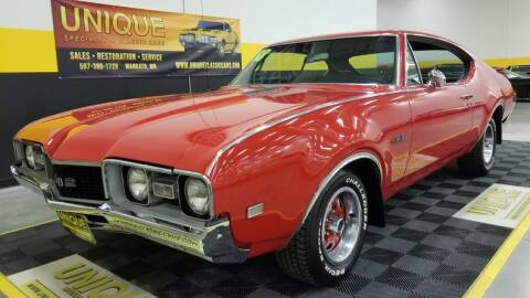 1968 Oldsmobile 442 for sale at UNIQUE SPECIALTY & CLASSICS in Mankato MN