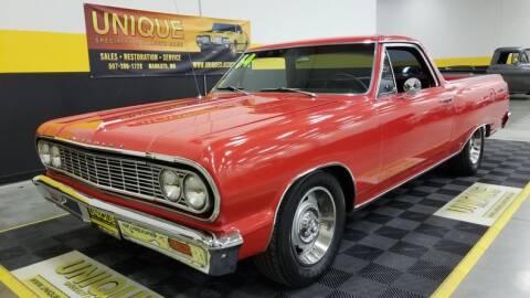 1964 Chevrolet El Camino for sale at UNIQUE SPECIALTY & CLASSICS in Mankato MN