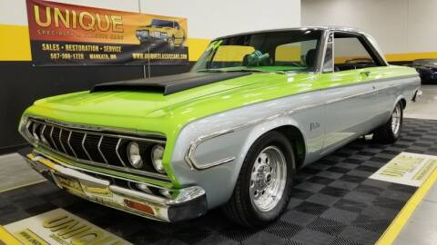 1964 Plymouth Belvedere for sale at UNIQUE SPECIALTY & CLASSICS in Mankato MN