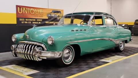 1950 Buick Roadmaster for sale at UNIQUE SPECIALTY & CLASSICS in Mankato MN