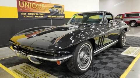 1965 Chevrolet Corvette for sale at UNIQUE SPECIALTY & CLASSICS in Mankato MN