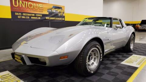 1979 Chevrolet Corvette for sale at UNIQUE SPECIALTY & CLASSICS in Mankato MN