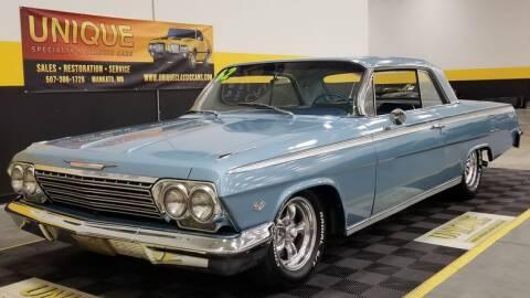 1962 Chevrolet Impala for sale at UNIQUE SPECIALTY & CLASSICS in Mankato MN