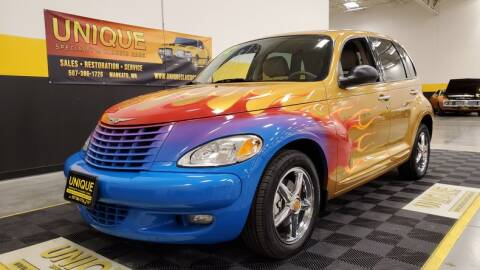 2002 Chrysler PT Cruiser for sale at UNIQUE SPECIALTY & CLASSICS in Mankato MN