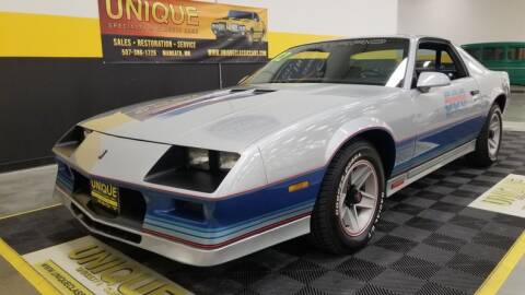 1982 Chevrolet Camaro for sale at UNIQUE SPECIALTY & CLASSICS in Mankato MN