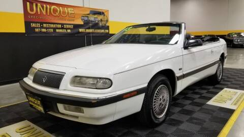 1993 Chrysler Le Baron for sale at UNIQUE SPECIALTY & CLASSICS in Mankato MN
