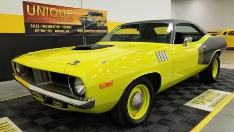 1972 Plymouth 'Cuda Tribute for sale at UNIQUE SPECIALTY & CLASSICS in Mankato MN