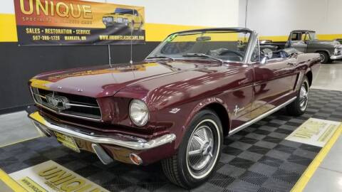 1965 Ford Mustang for sale at UNIQUE SPECIALTY & CLASSICS in Mankato MN
