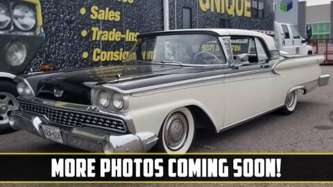 1959 Ford Fairlane for sale at UNIQUE SPECIALTY & CLASSICS in Mankato MN