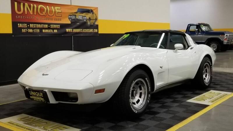 1979 Chevrolet Corvette for sale at UNIQUE SPECIALTY & CLASSICS in Mankato MN