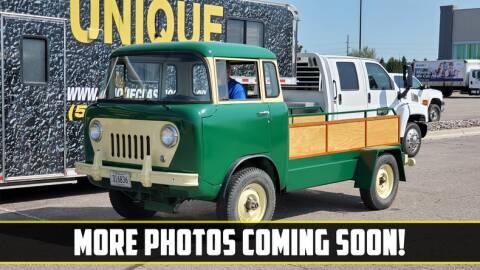 1960 Willys FC170 for sale at UNIQUE SPECIALTY & CLASSICS in Mankato MN