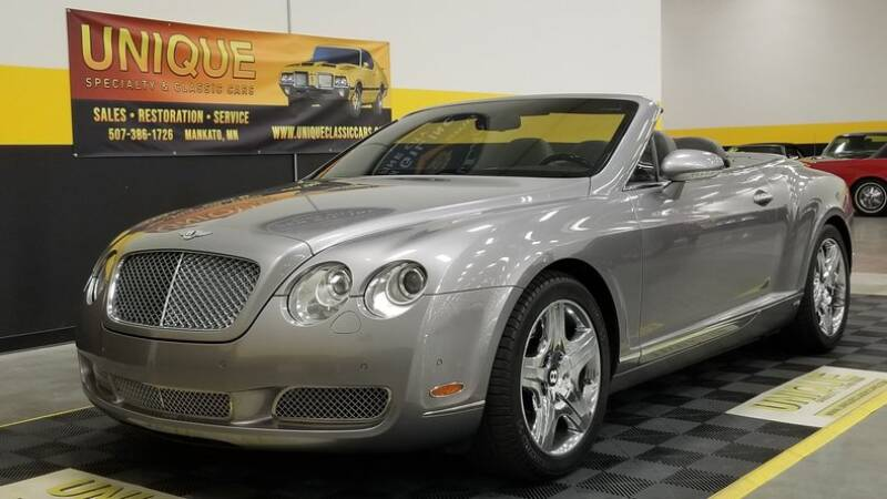 2007 Bentley Continental for sale at UNIQUE SPECIALTY & CLASSICS in Mankato MN