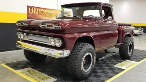 1961 Chevrolet Apache for sale at UNIQUE SPECIALTY & CLASSICS in Mankato MN