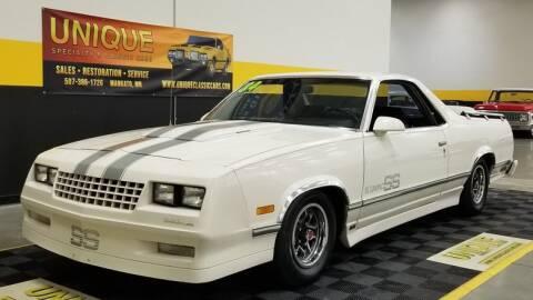 1984 Chevrolet El Camino for sale at UNIQUE SPECIALTY & CLASSICS in Mankato MN