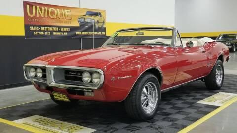 1967 Pontiac Firebird for sale at UNIQUE SPECIALTY & CLASSICS in Mankato MN