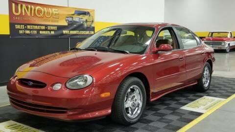 1996 Ford Taurus for sale at UNIQUE SPECIALTY & CLASSICS in Mankato MN